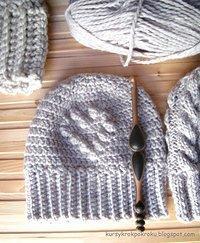 Wzór Grey Bear amigurumi szydełka (Free) ~ amigurumi wz… na Stylowi.pl | 243x200